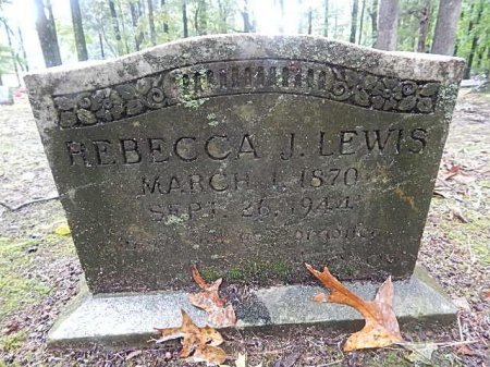LEWIS, REBECCA J - Shelby County, Tennessee | REBECCA J LEWIS - Tennessee Gravestone Photos