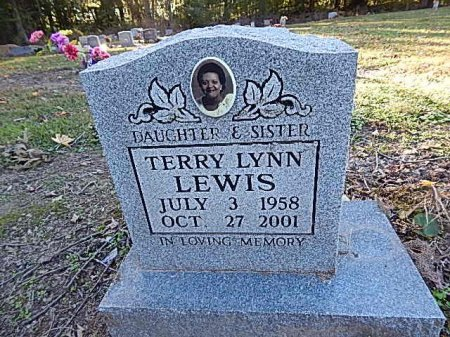 LEWIS, TERRY LYNN - Shelby County, Tennessee   TERRY LYNN LEWIS - Tennessee Gravestone Photos