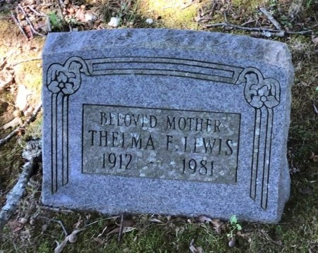 LEWIS, THELMA F. - Shelby County, Tennessee | THELMA F. LEWIS - Tennessee Gravestone Photos