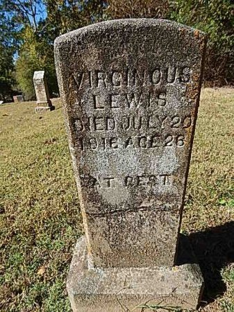 LEWIS, VIRGINOUS - Shelby County, Tennessee | VIRGINOUS LEWIS - Tennessee Gravestone Photos