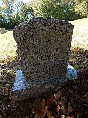 LEWIS, WILBERT B - Shelby County, Tennessee   WILBERT B LEWIS - Tennessee Gravestone Photos