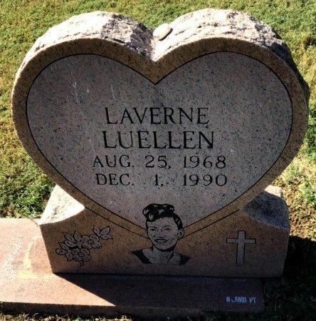 LUELLEN, LAVERNE - Shelby County, Tennessee | LAVERNE LUELLEN - Tennessee Gravestone Photos