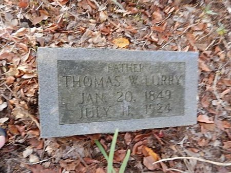 LURRY, THOMAS WILSON - Shelby County, Tennessee | THOMAS WILSON LURRY - Tennessee Gravestone Photos