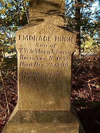 LURRY (VETERAN SAW), EMORAGE HUGH - Shelby County, Tennessee | EMORAGE HUGH LURRY (VETERAN SAW) - Tennessee Gravestone Photos