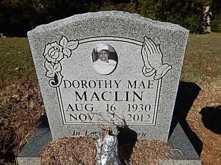 MACLIN, DOROTHY MAE - Shelby County, Tennessee | DOROTHY MAE MACLIN - Tennessee Gravestone Photos