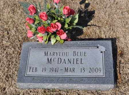 MCDANIEL, MARYLOU BLUE - Shelby County, Tennessee | MARYLOU BLUE MCDANIEL - Tennessee Gravestone Photos