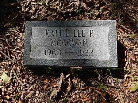MCGOWAN, KATIE LEE - Shelby County, Tennessee | KATIE LEE MCGOWAN - Tennessee Gravestone Photos