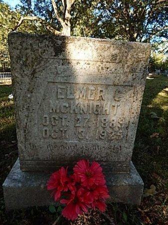 MCKNIGHT, ELMER C - Shelby County, Tennessee | ELMER C MCKNIGHT - Tennessee Gravestone Photos