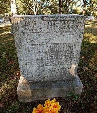 MCKNIGHT, EMBREY ALLEN - Shelby County, Tennessee | EMBREY ALLEN MCKNIGHT - Tennessee Gravestone Photos