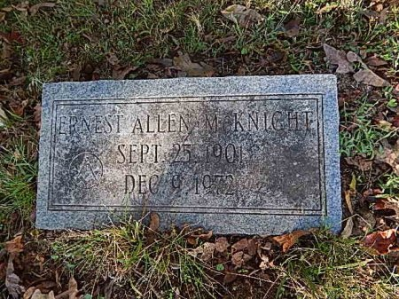 MCKNIGHT, ERNEST ALLEN - Shelby County, Tennessee | ERNEST ALLEN MCKNIGHT - Tennessee Gravestone Photos