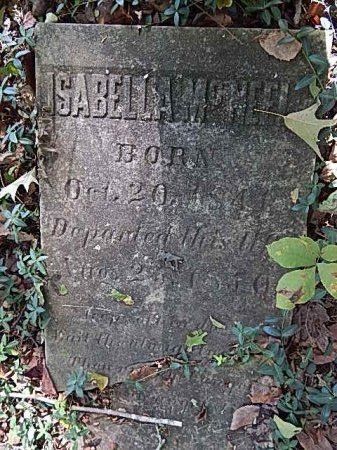 MCNEEL, ISABELLA - Shelby County, Tennessee | ISABELLA MCNEEL - Tennessee Gravestone Photos
