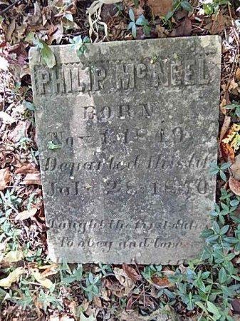 MCNEEL, PHILIP - Shelby County, Tennessee | PHILIP MCNEEL - Tennessee Gravestone Photos
