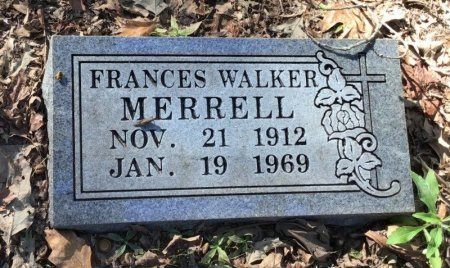 MERRELL, FRANCES - Shelby County, Tennessee | FRANCES MERRELL - Tennessee Gravestone Photos