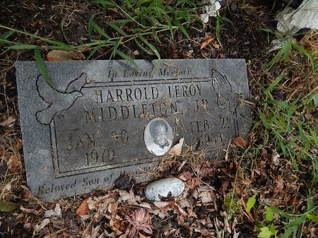 MIDDLETON JR, HARROLD LEROY - Shelby County, Tennessee   HARROLD LEROY MIDDLETON JR - Tennessee Gravestone Photos