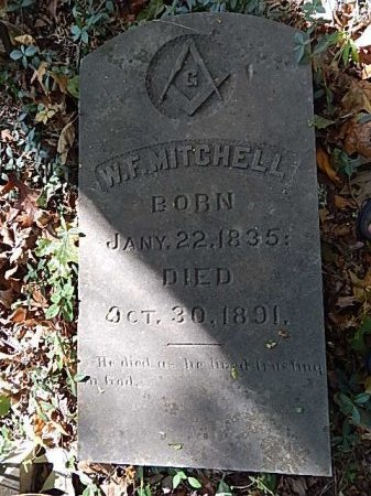 MITCHELL, WILLIAM F - Shelby County, Tennessee | WILLIAM F MITCHELL - Tennessee Gravestone Photos