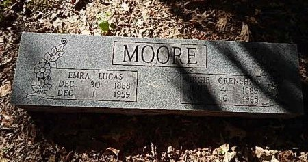 MOORE, EMRA LUCAS - Shelby County, Tennessee | EMRA LUCAS MOORE - Tennessee Gravestone Photos