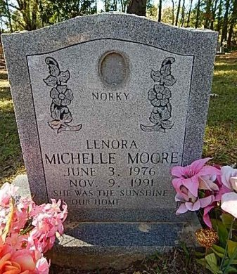 MOORE, LENORA MICHELLE - Shelby County, Tennessee | LENORA MICHELLE MOORE - Tennessee Gravestone Photos