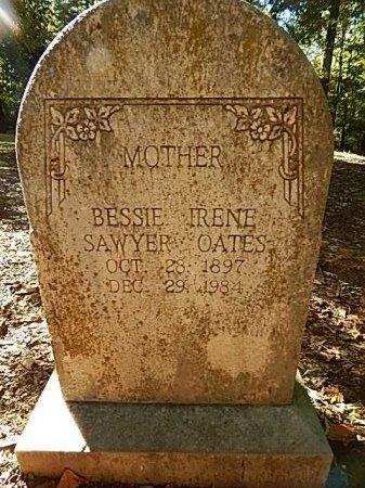 SAWYER OATES, BESSIE IRENE - Shelby County, Tennessee | BESSIE IRENE SAWYER OATES - Tennessee Gravestone Photos