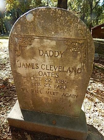 OATES, JAMES CLEVELAND - Shelby County, Tennessee | JAMES CLEVELAND OATES - Tennessee Gravestone Photos