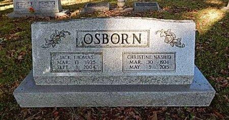 OSBORN, JACK THOMAS - Shelby County, Tennessee | JACK THOMAS OSBORN - Tennessee Gravestone Photos