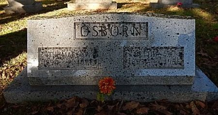 OSBORN, BETTIE W - Shelby County, Tennessee | BETTIE W OSBORN - Tennessee Gravestone Photos