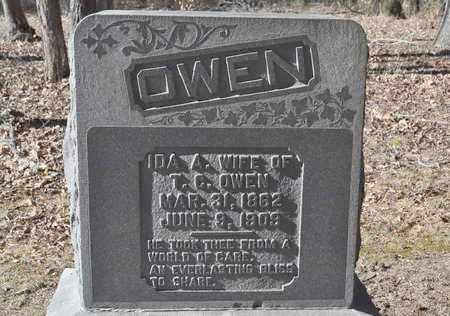 OWEN, IDA A. - Shelby County, Tennessee   IDA A. OWEN - Tennessee Gravestone Photos