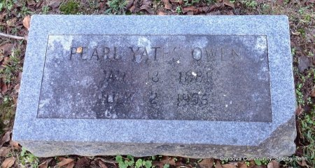 OWEN, PEARL - Shelby County, Tennessee | PEARL OWEN - Tennessee Gravestone Photos