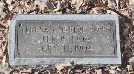 OWEN, TERESA CORRINE - Shelby County, Tennessee   TERESA CORRINE OWEN - Tennessee Gravestone Photos