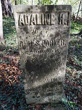 PARKER, ADALINE H - Shelby County, Tennessee | ADALINE H PARKER - Tennessee Gravestone Photos