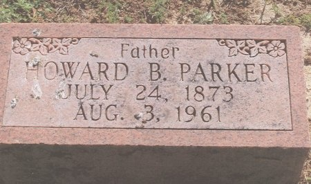 PARKER, HOWARD B. - Shelby County, Tennessee | HOWARD B. PARKER - Tennessee Gravestone Photos