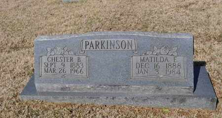 PARKINSON, CHESTER B. - Shelby County, Tennessee | CHESTER B. PARKINSON - Tennessee Gravestone Photos