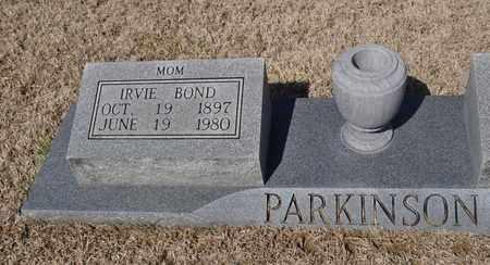 PARKINSON, IRVIE - Shelby County, Tennessee | IRVIE PARKINSON - Tennessee Gravestone Photos