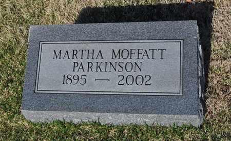 PARKINSON, MARTHA - Shelby County, Tennessee   MARTHA PARKINSON - Tennessee Gravestone Photos