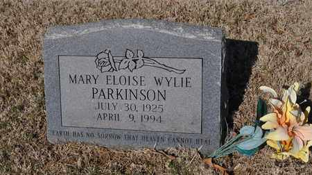 PARKINSON, MARY ELOISE - Shelby County, Tennessee   MARY ELOISE PARKINSON - Tennessee Gravestone Photos