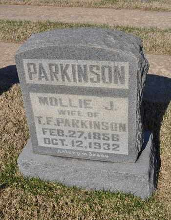 PARKINSON, MOLLIE J. - Shelby County, Tennessee   MOLLIE J. PARKINSON - Tennessee Gravestone Photos