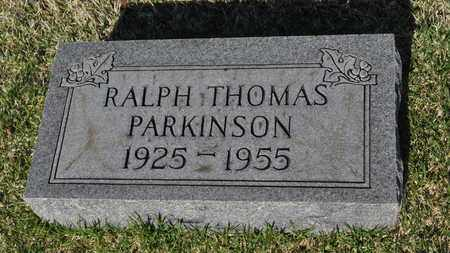 PARKINSON, RALPH THOMAS - Shelby County, Tennessee | RALPH THOMAS PARKINSON - Tennessee Gravestone Photos