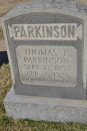 PARKINSON, THOMAS F. - Shelby County, Tennessee | THOMAS F. PARKINSON - Tennessee Gravestone Photos
