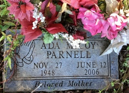 MCCOY PARNELL, ADA - Shelby County, Tennessee | ADA MCCOY PARNELL - Tennessee Gravestone Photos