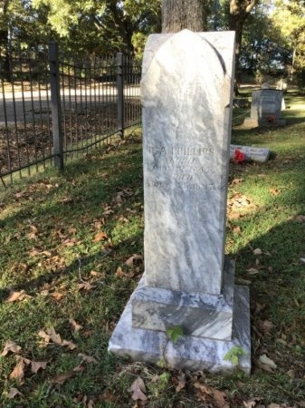 PHILLIPS, R. A. - Shelby County, Tennessee | R. A. PHILLIPS - Tennessee Gravestone Photos