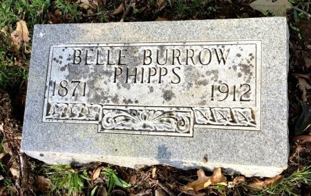 PHIPPS, BELLE - Shelby County, Tennessee | BELLE PHIPPS - Tennessee Gravestone Photos