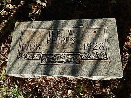 PHIPPS JR, IKE W - Shelby County, Tennessee | IKE W PHIPPS JR - Tennessee Gravestone Photos