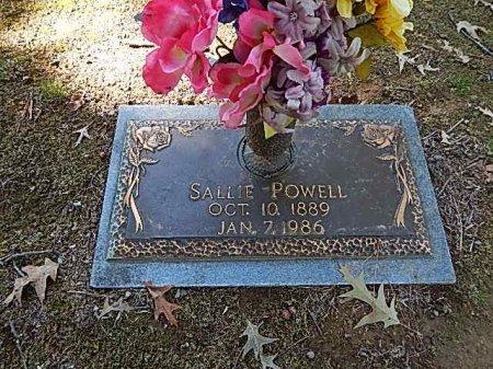 POWELL, SALLIE - Shelby County, Tennessee | SALLIE POWELL - Tennessee Gravestone Photos