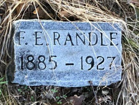 RANDLE, F. E. - Shelby County, Tennessee | F. E. RANDLE - Tennessee Gravestone Photos