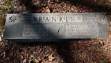 RANKIN, LOUIS R - Shelby County, Tennessee | LOUIS R RANKIN - Tennessee Gravestone Photos