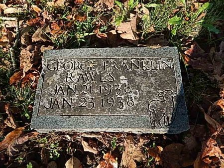 RAWLS, GEORGE FRANKLIN - Shelby County, Tennessee | GEORGE FRANKLIN RAWLS - Tennessee Gravestone Photos