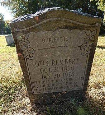 REMBERT, OTIS - Shelby County, Tennessee | OTIS REMBERT - Tennessee Gravestone Photos
