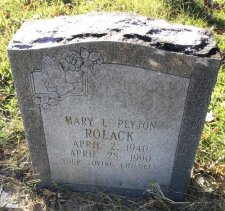 ROLACK, MARY L. - Shelby County, Tennessee | MARY L. ROLACK - Tennessee Gravestone Photos