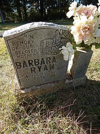RYAN, BARBARA - Shelby County, Tennessee | BARBARA RYAN - Tennessee Gravestone Photos