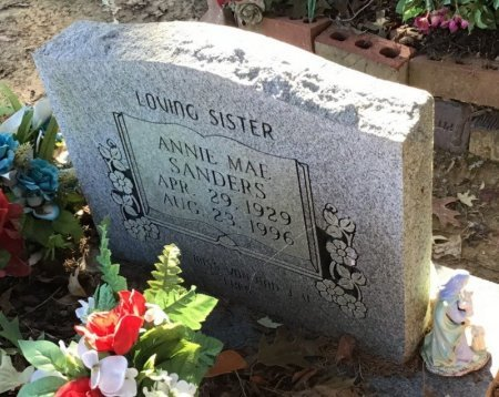 SANDERS, ANNIE MAE - Shelby County, Tennessee | ANNIE MAE SANDERS - Tennessee Gravestone Photos