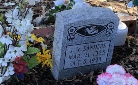 SANDERS, J. V. - Shelby County, Tennessee | J. V. SANDERS - Tennessee Gravestone Photos